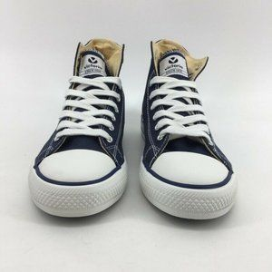 Victoria Womens Sneakers Blue White High Top